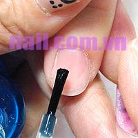 Đắp móng nhũ kết hợp cọ râu (bước 3)