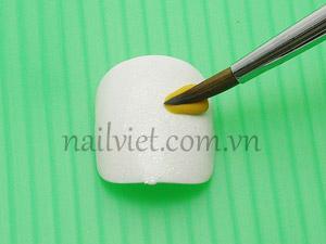 Kỹ thuật làm nơ bằng bột (bước 1)