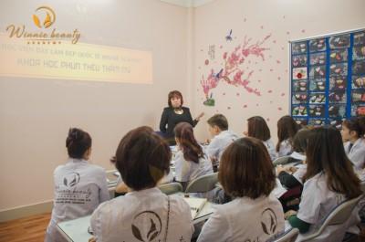 Chuyên Ngành Trang điểm bán vĩnh cửu  Tại Trung tâm đào tạo Làm Đẹp Quốc Tế Winnie Academy