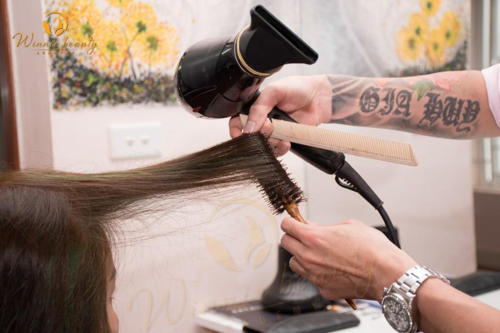 khóa học tạo mẫu tóc cơ bản