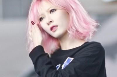 Tóc màu hồng thạch anh sang chảnh