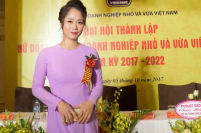 Bà Nguyễn hải Yến trở thành thành viên của Hiệp hội nữ Doanh nhân Doanh nghiệp nhỏ và vừa Việt Nam