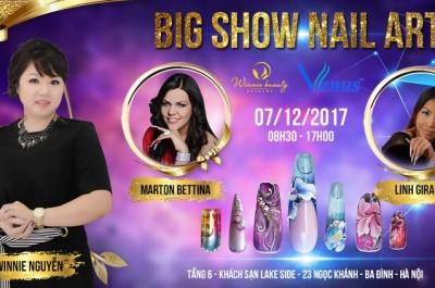 Big show Nail Art do Winnie Academy và Venus phối hợp tổ chức