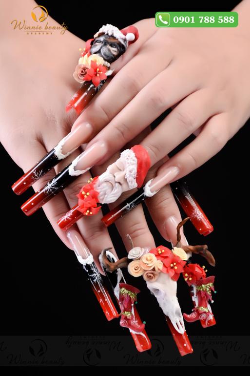 Mãn nhãn với tác phẩm Nail Art đầy tính nghệ thuật