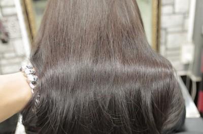 Bạn hoàn toàn có thể yêu cầu   màu tóc nối yêu thích khi nối tóc