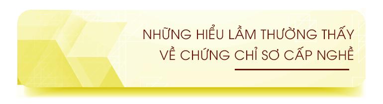 hieu lam thuong thay ve chung chi so cap nghe