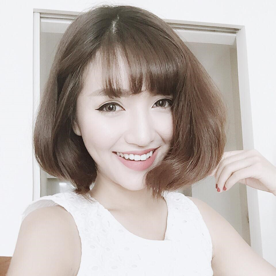 Tóc ngắn retro tinh tế và cuốn hút