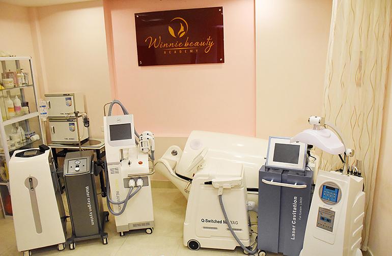 Hỗ trợ toàn bộ máy móc công nghệ cao ứng dụng tại các thẩm mỹ viện hàng đầu Việt Nam