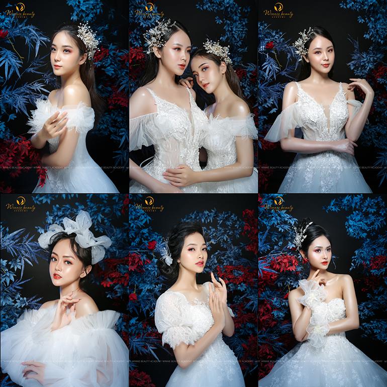 Hình ảnh sản phẩm tốt nghiệp quý II/2020 tại Winnie Beauty Academy
