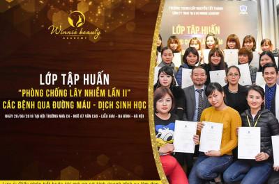Đào tạo và cấp chứng nhận phòng chống lây nhiễm tại Hà Nội