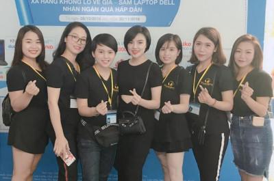 """Học viên Make up của  Winnie đồng hành cùng chương trình  """"Tỏa sáng ước mơ 2018"""" do nhãn hàng Dell tổ chức"""