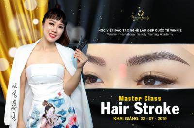 Khóa Học Thêu Sợi HairStroke