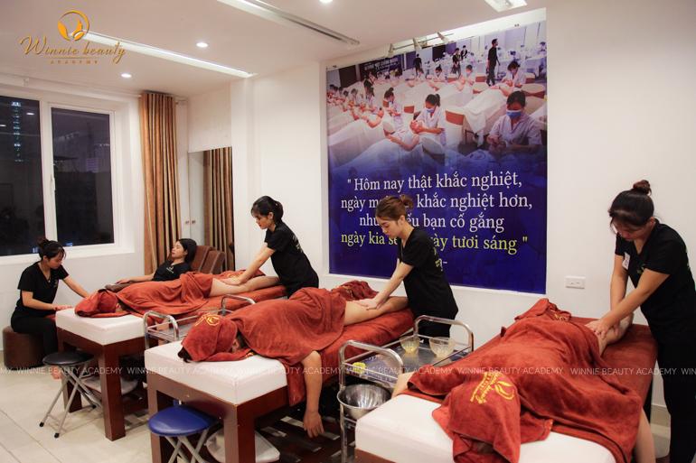 Bài thi Massage Body