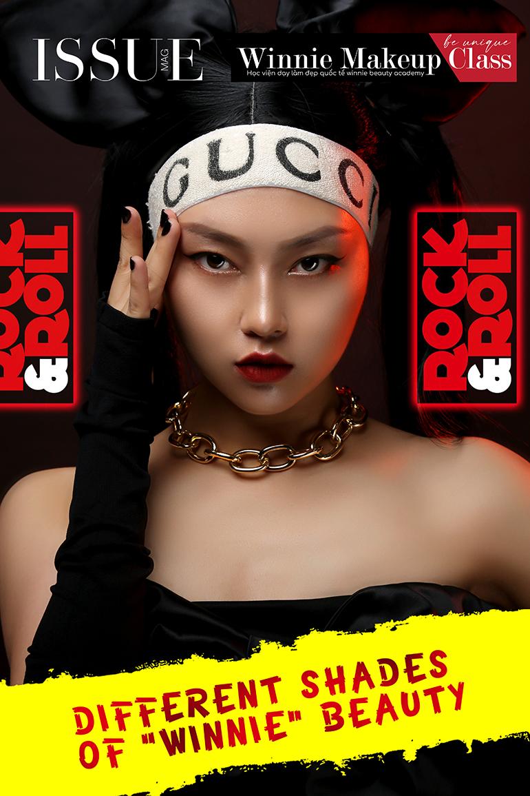 Giảng viên Cao Thảo - Training kỹ thuật Make up Studio
