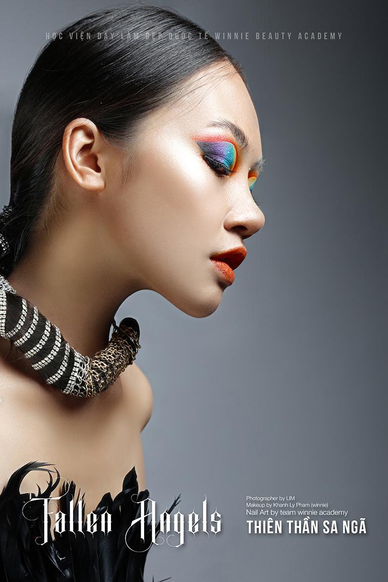 Model: Cao Thảo - Giảng viên team Make up chuyên nghiệp