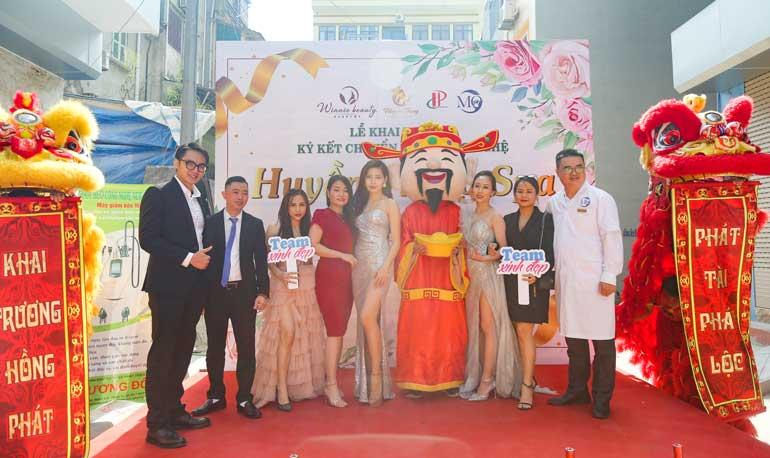 Chúc mừng khai trương Huyền Trang Spa Hồng Phát